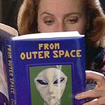 scully reading scripts