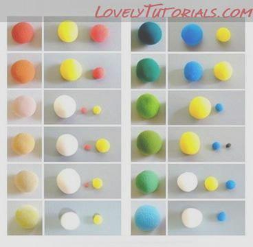 mixing fimo colours