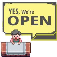 Open blog, open shop